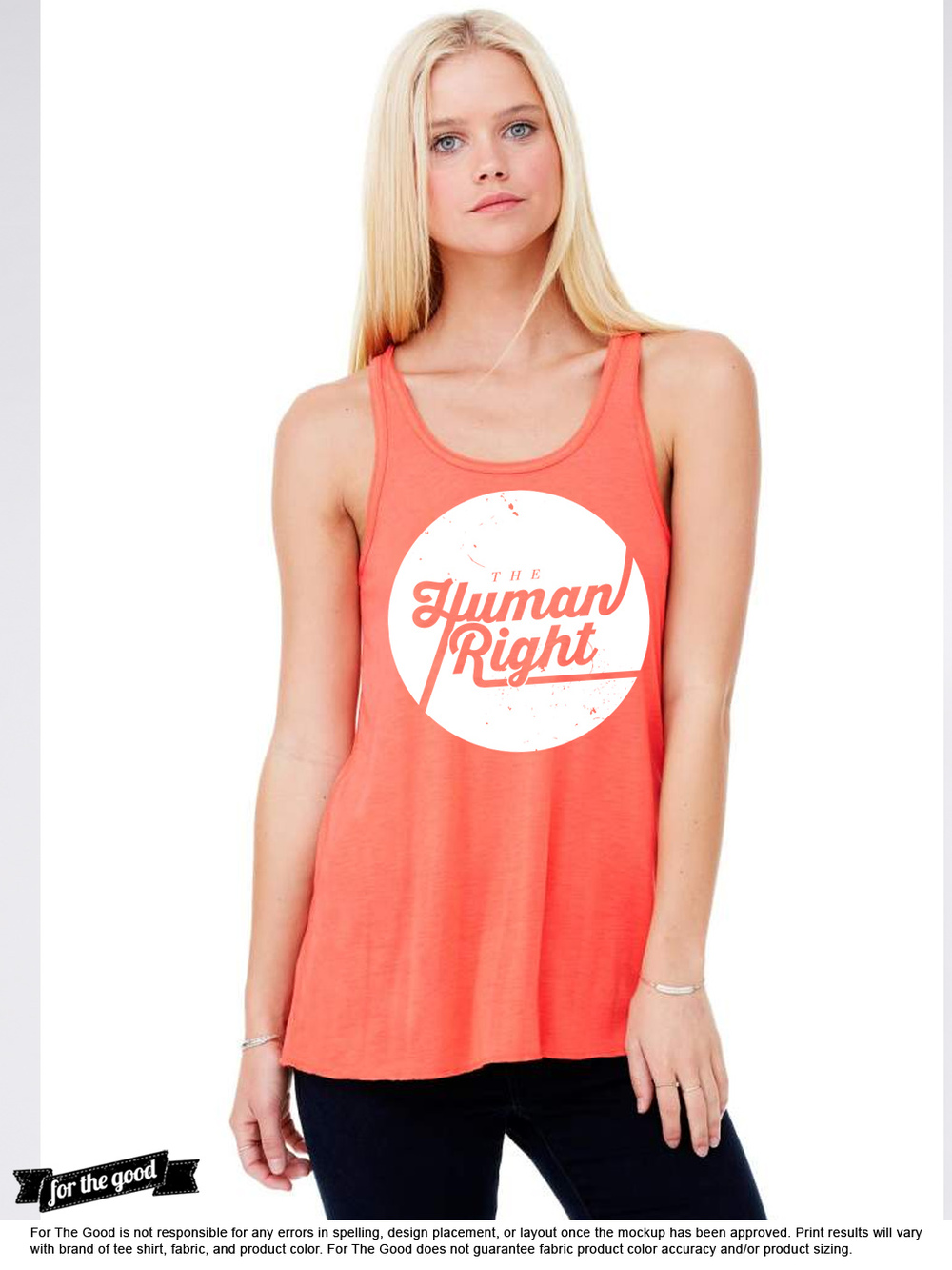 apparel concept | The Human Right | North Texas District