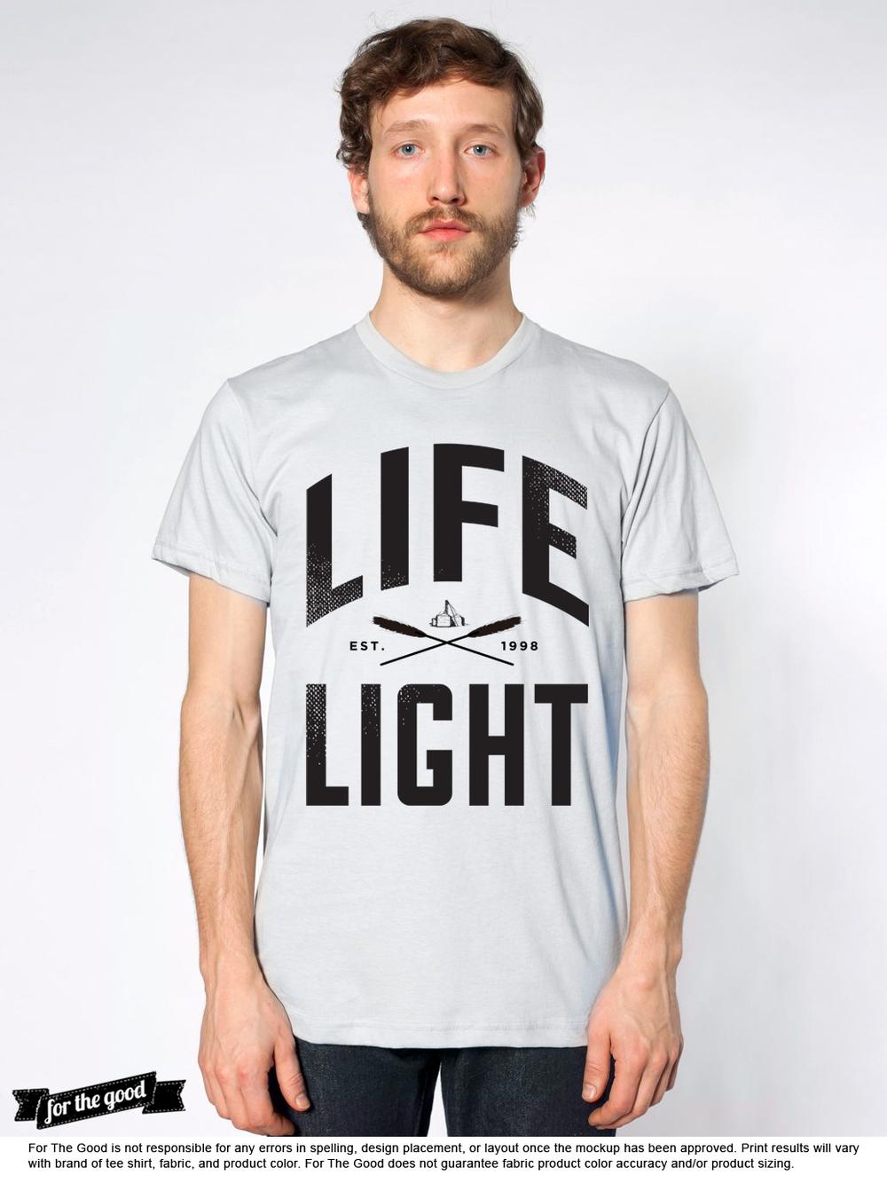 Tee concept | LifeLight Music Festival
