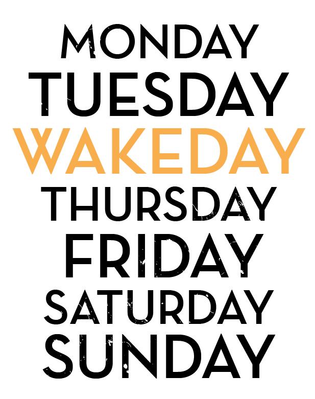 Wake On demand apparel concept   ABQ