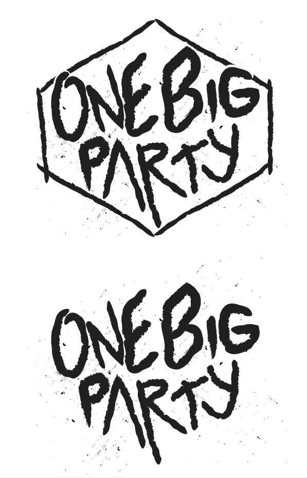 Tee concept/ Identity | One big Party | Mpact SM| Broken Arrow, OK