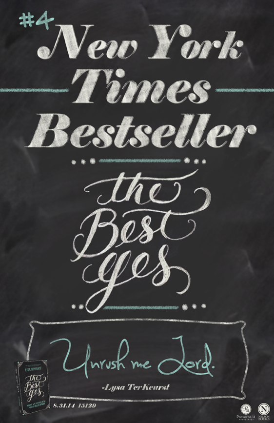 Promotional posters | The Best Yes | Nelson Books