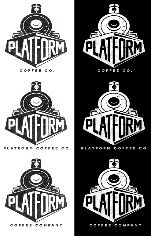 Identity | Platform Coffee co | GA