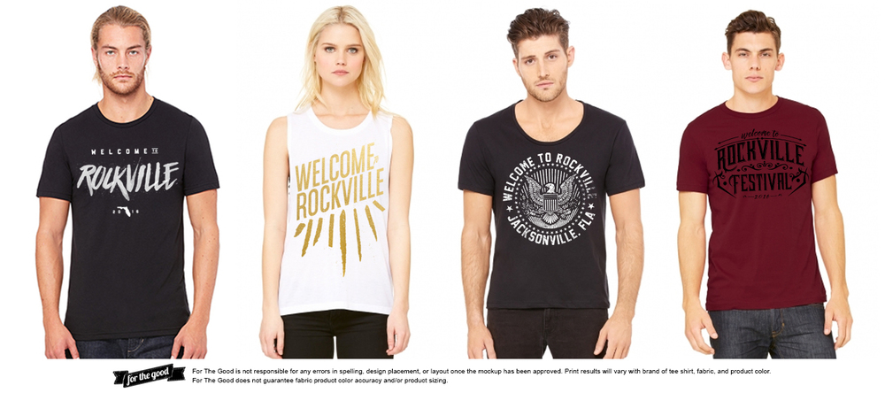 Apparel | On Demand Printing | Welcome To Rockville Fest | FL