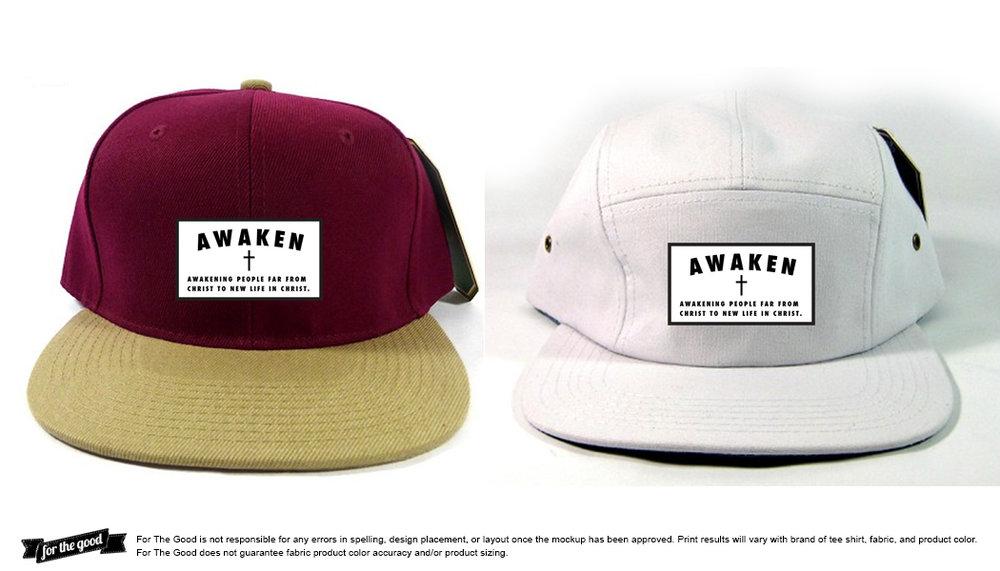 Hat patch concept   Awaken Church   Clarksville, TN