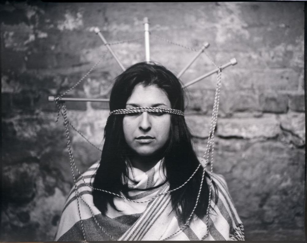 Despina, portrait of a weaver.