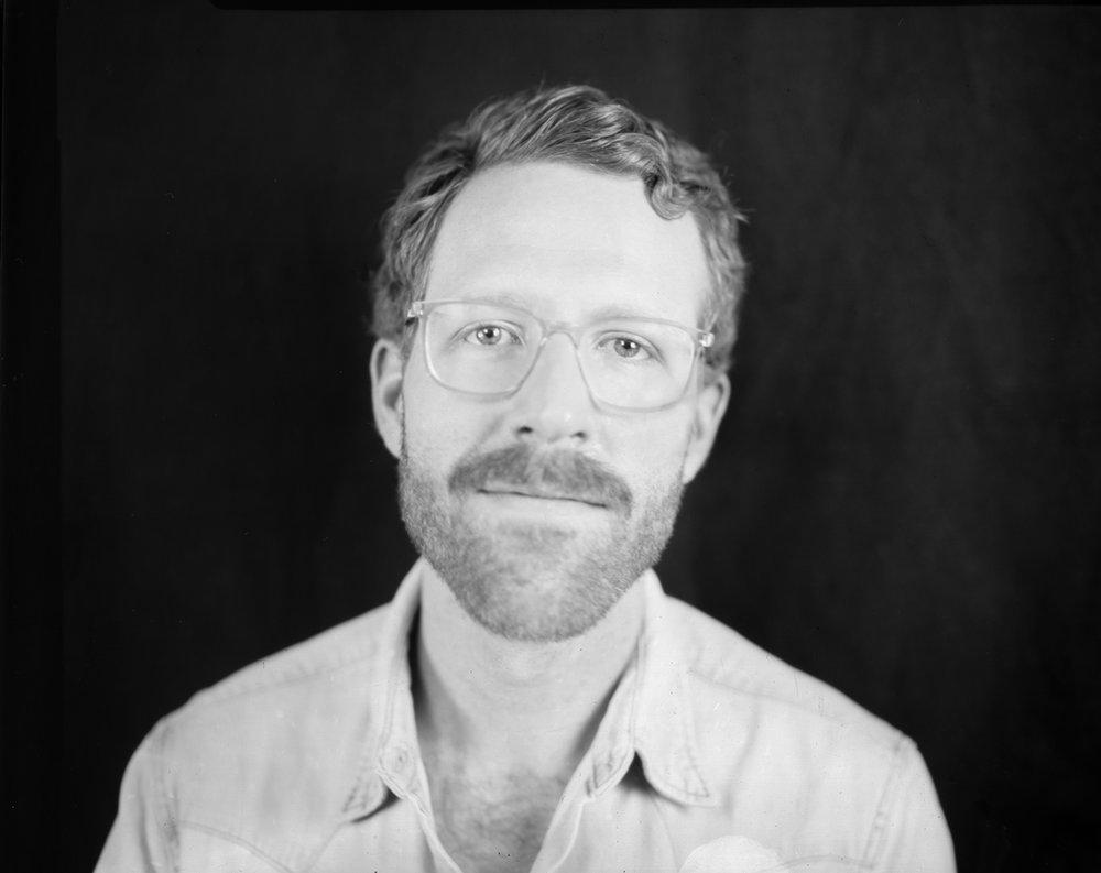 Michael Golas, 4x5 Studio Portrait
