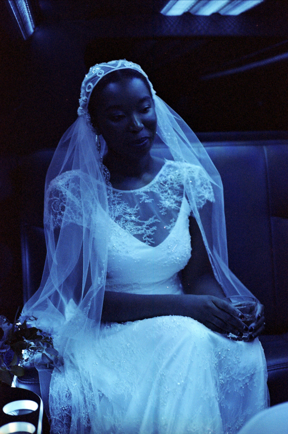 Grace on her Wedding Day