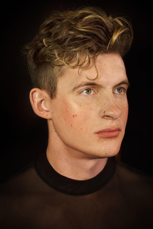Model headshots for Ross Sullivan, 2019