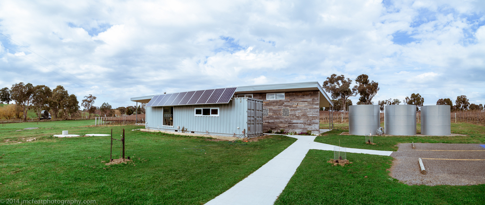 the minimalist and environmentally friendly cellar door | four winds vineyard, murrumbateman