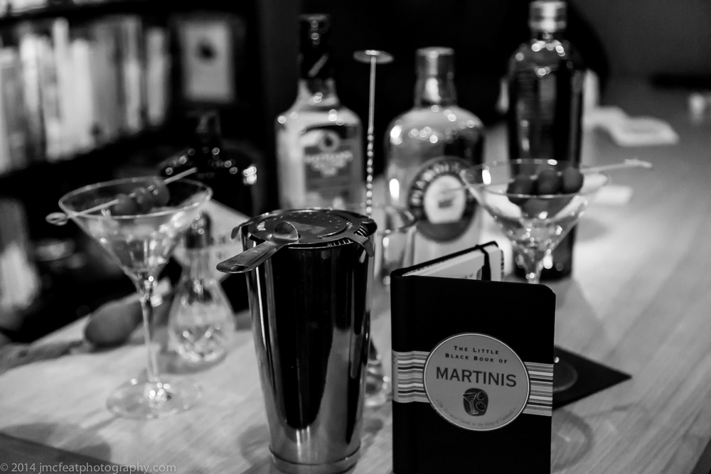 martini paraphernalia   polit bar, canberra