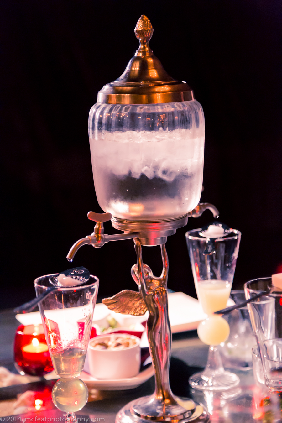 absinthe fountain | polit bar, manuka