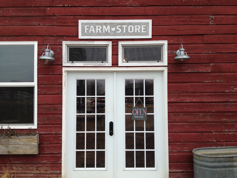 The newly opened Farm Store at Sawkill Farm in Red Hook, NY.
