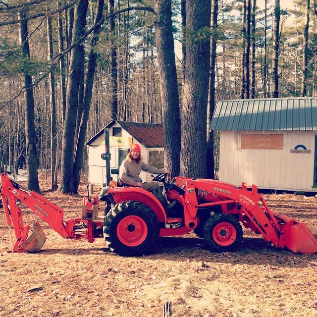 Nick's got a new (to him) Kubota tractor!