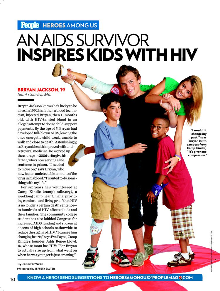 "People Magazine ""Heroes Among Us"" (2010)"