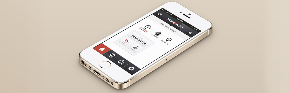 FASHION 365 - an application designed for men to keep up with current fashion trend