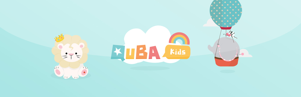 QUBA KIDS -  a collection of characters designed for kids