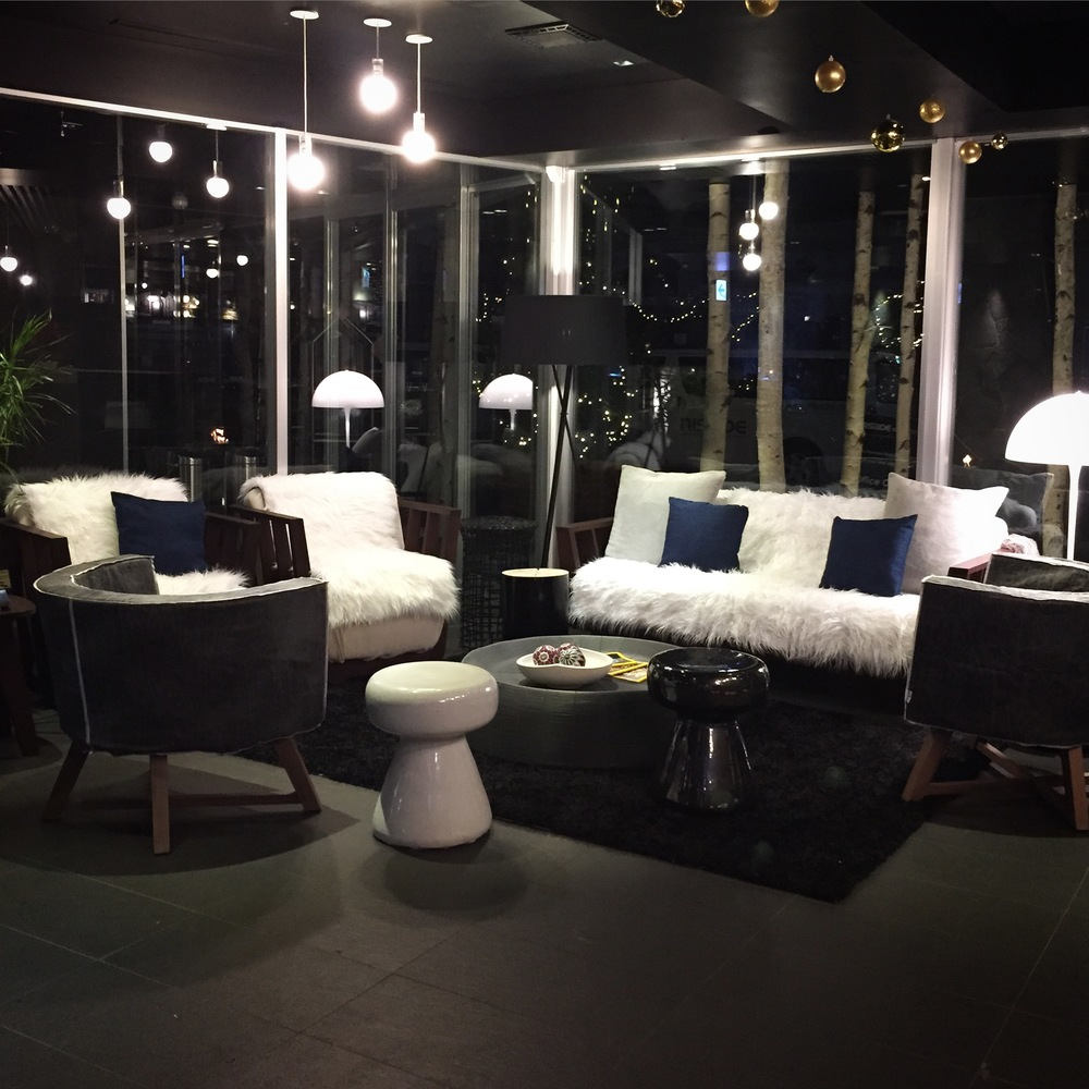 The Vale Niseko lobby