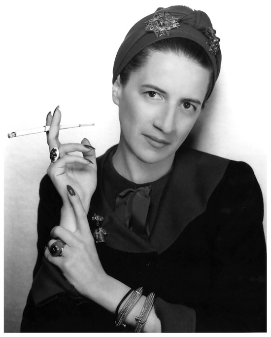 Looking elegant years before she began her career - Diana Vreeland