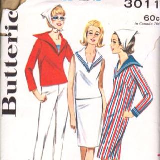 1960's middy pattern