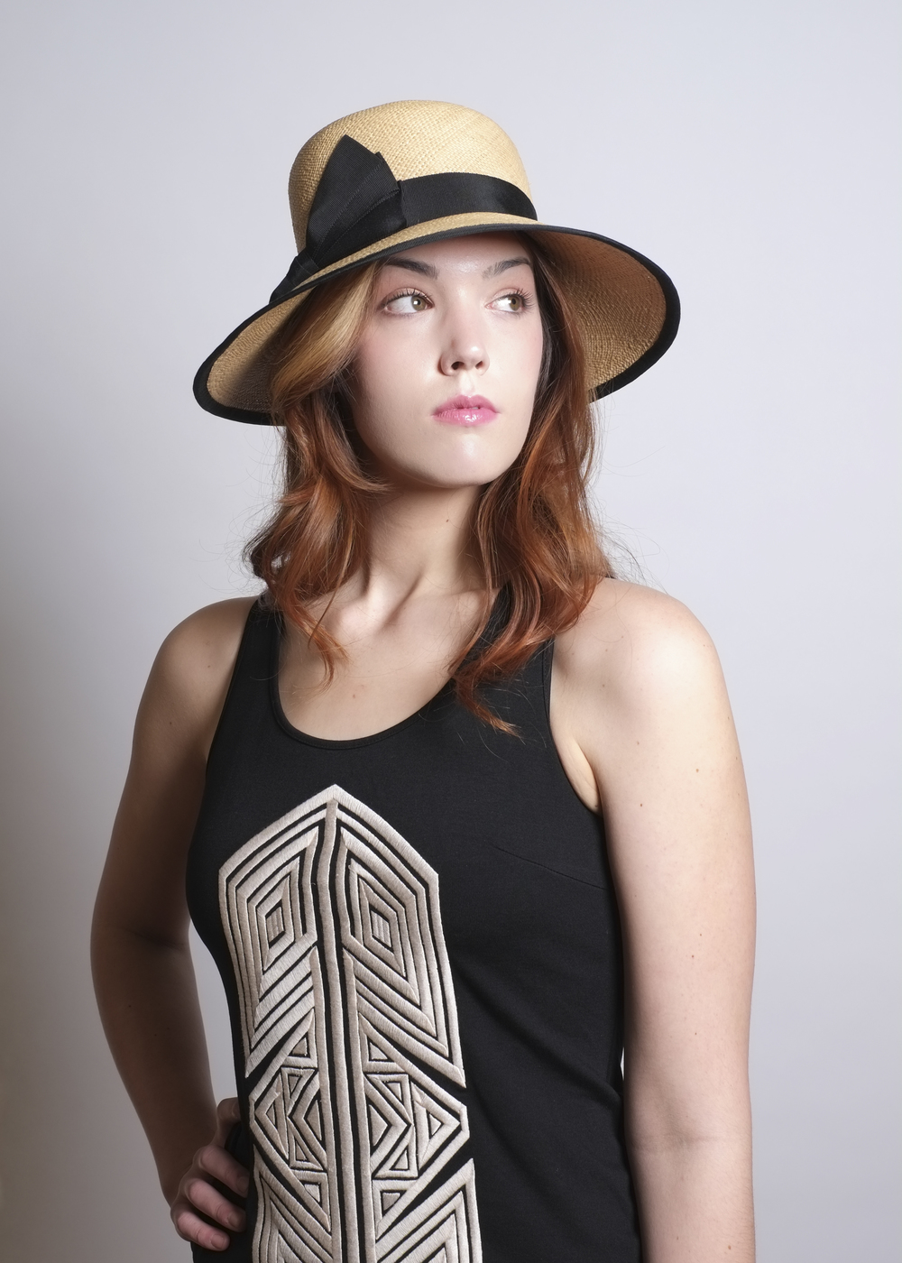 Fanny and June Spring 2014 Hat - Black Band