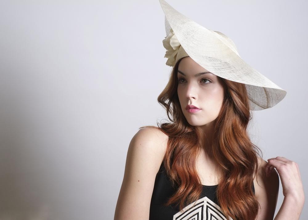 Fanny and June Spring 2014 Hat - Sinamay Tilt Hat