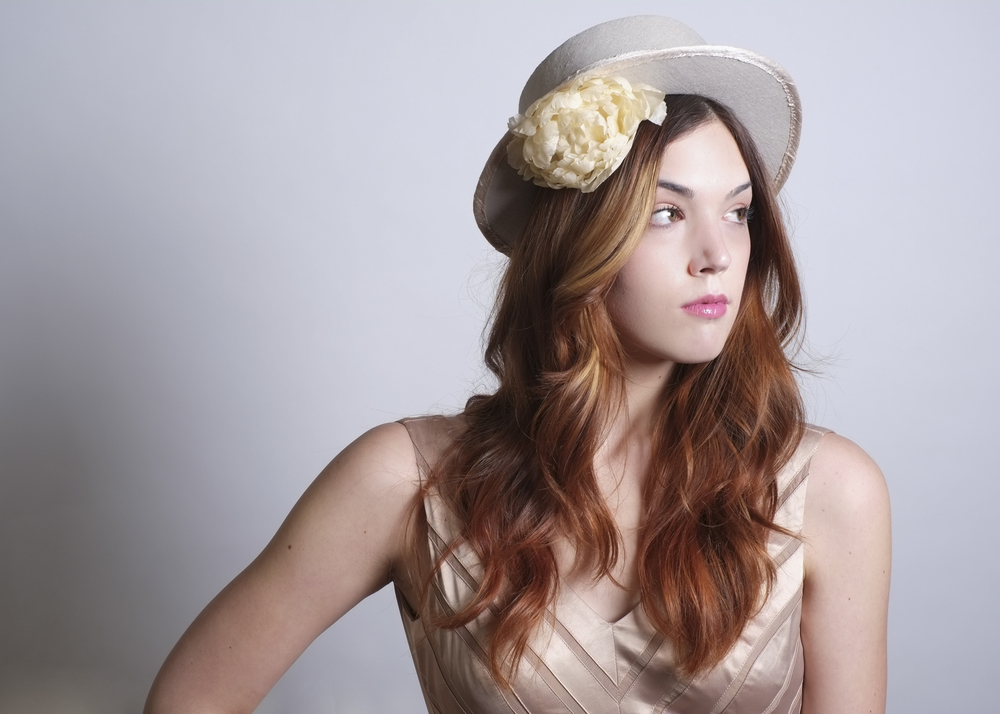Fanny and June Spring 2014 Hat - Linen Boater