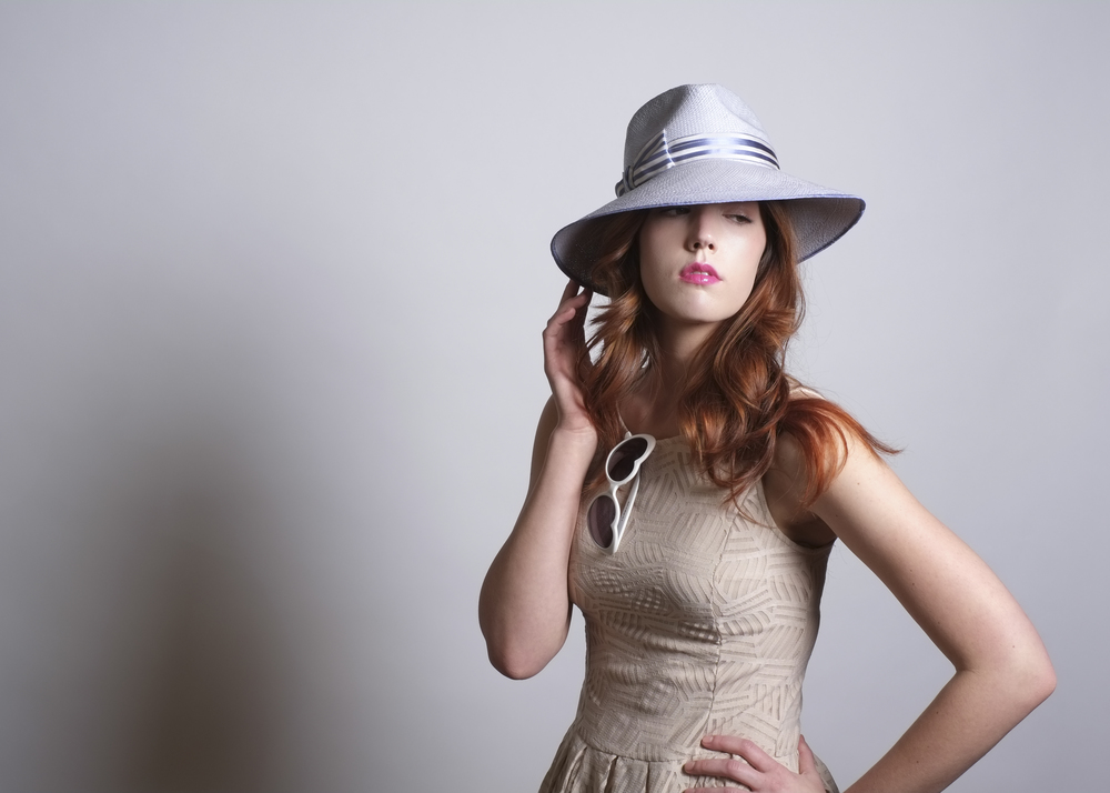 Fanny and June Spring 2014 Hat - Lilac Fedora