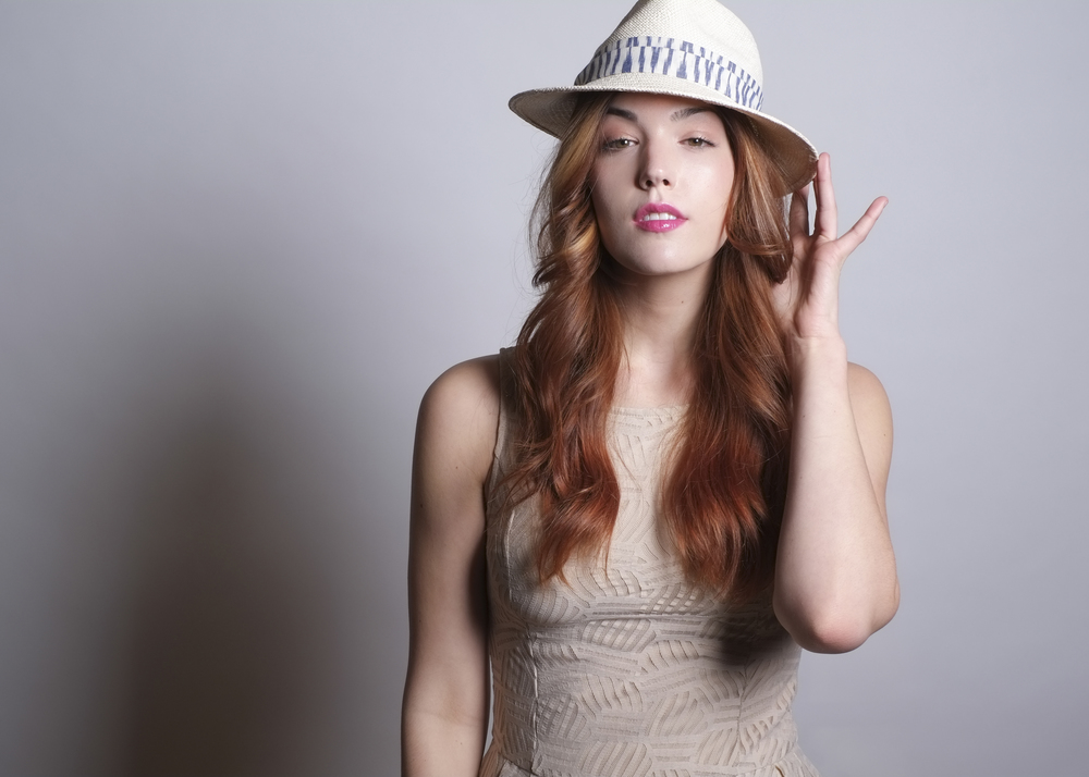 Fanny and June Spring 2014 Hat - Panama Ikat Fedora