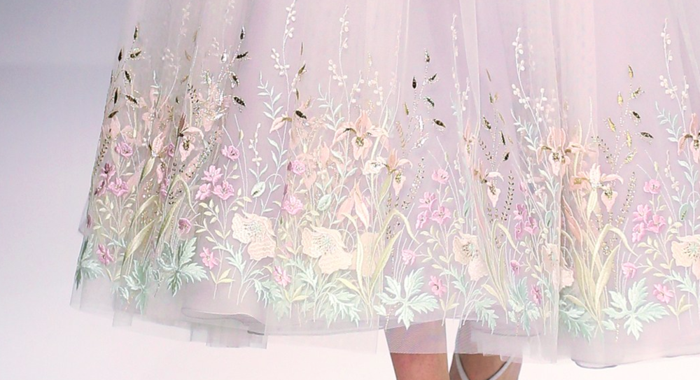 Ralph & Russo embroidered detail