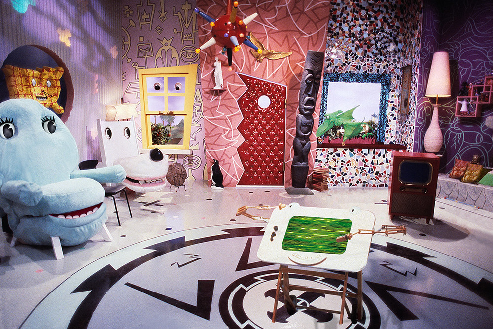 PeeWee's Playhouse set