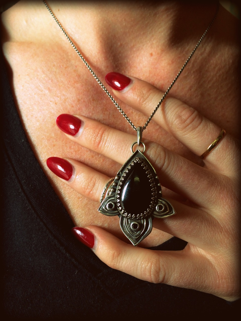 CC:Gothy Black Onyx and Black Spinel Pendant (4).jpeg