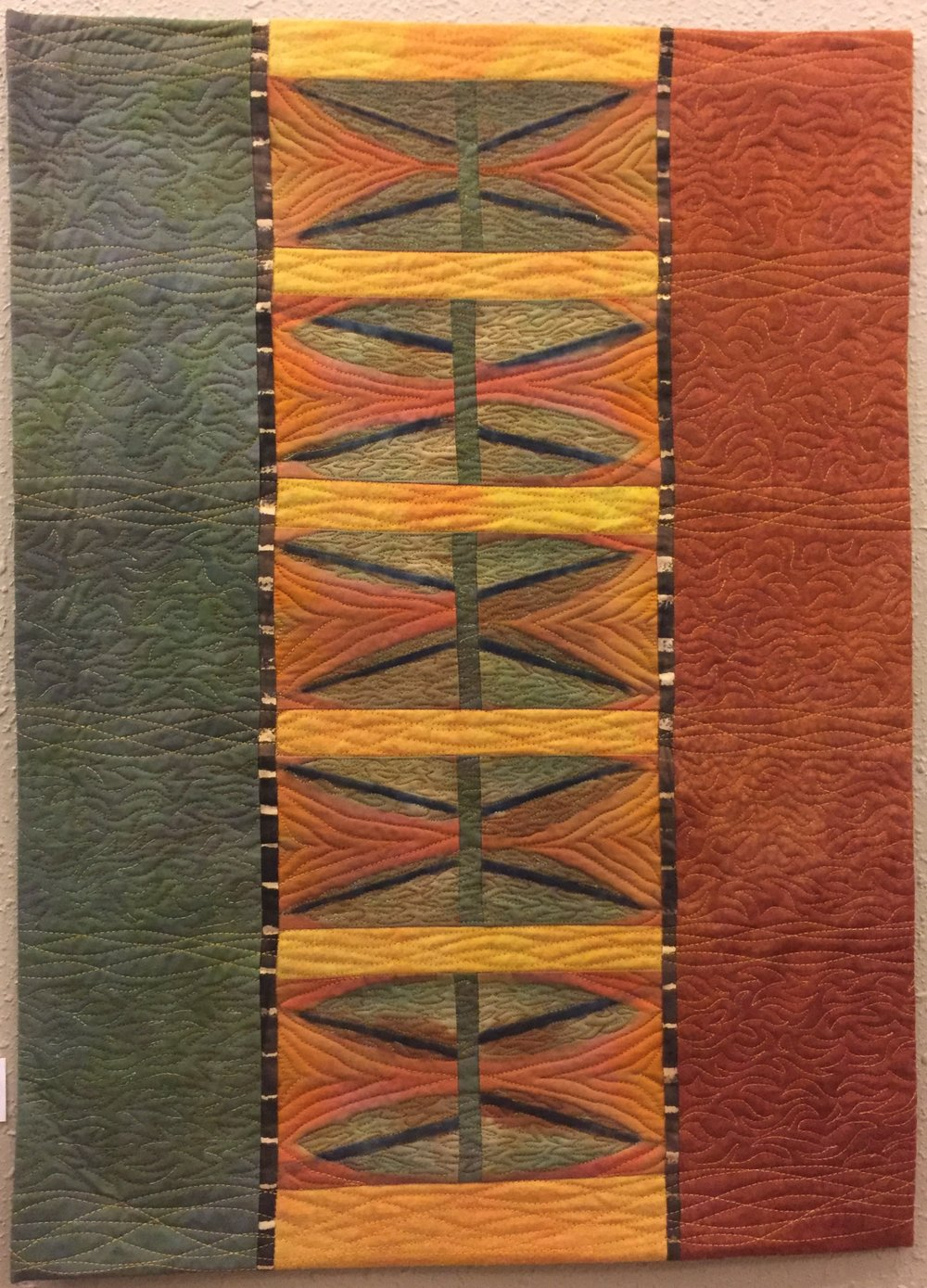 PATTERNS IN Fiber - by joan dyer