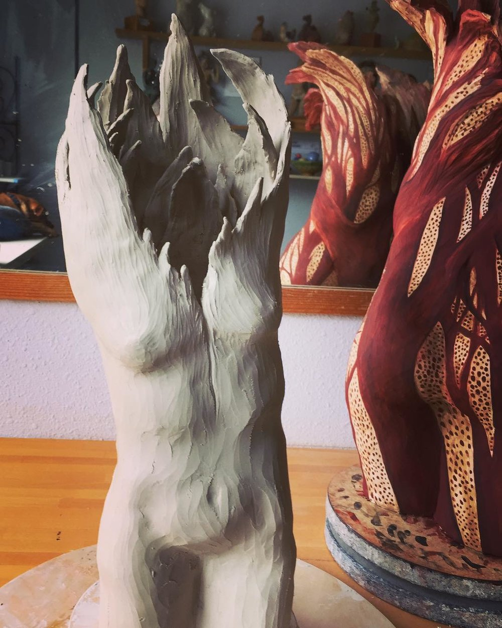 Amanda Paoletti.Figurative Trees.Studio Shot3.jpg