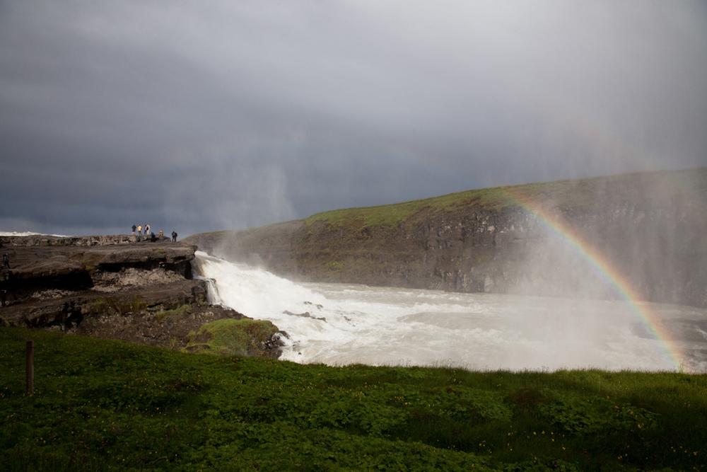 Rainbow Over Gullfoss // Iceland
