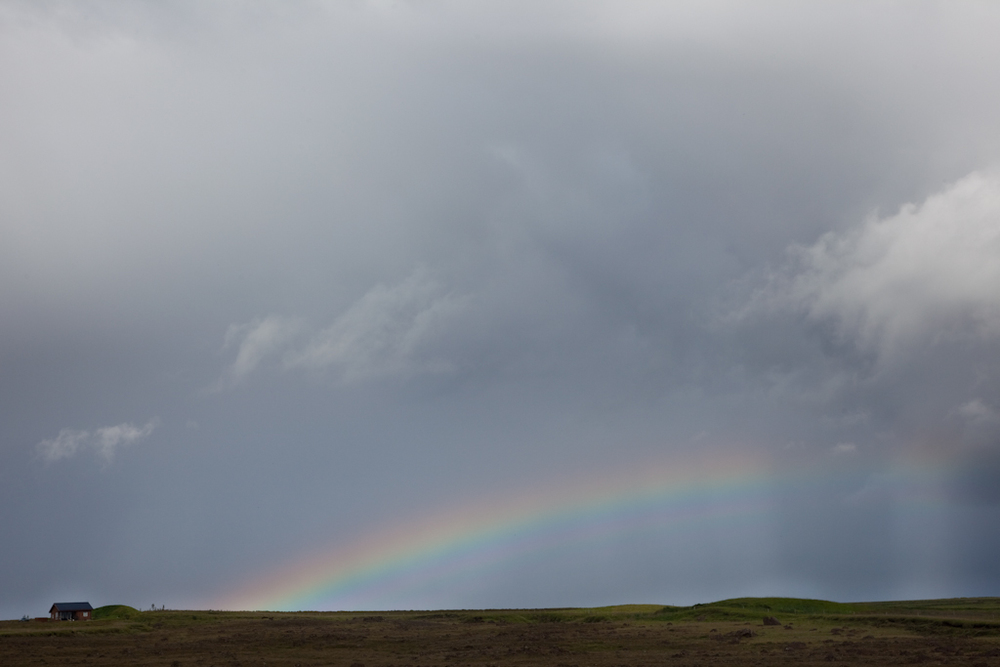 End of the Rainbow // Iceland