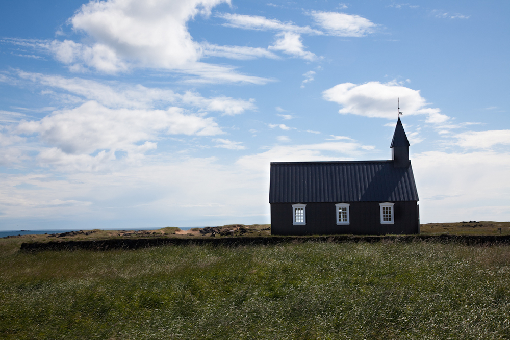 Black Wooden Church // Búðir, Iceland