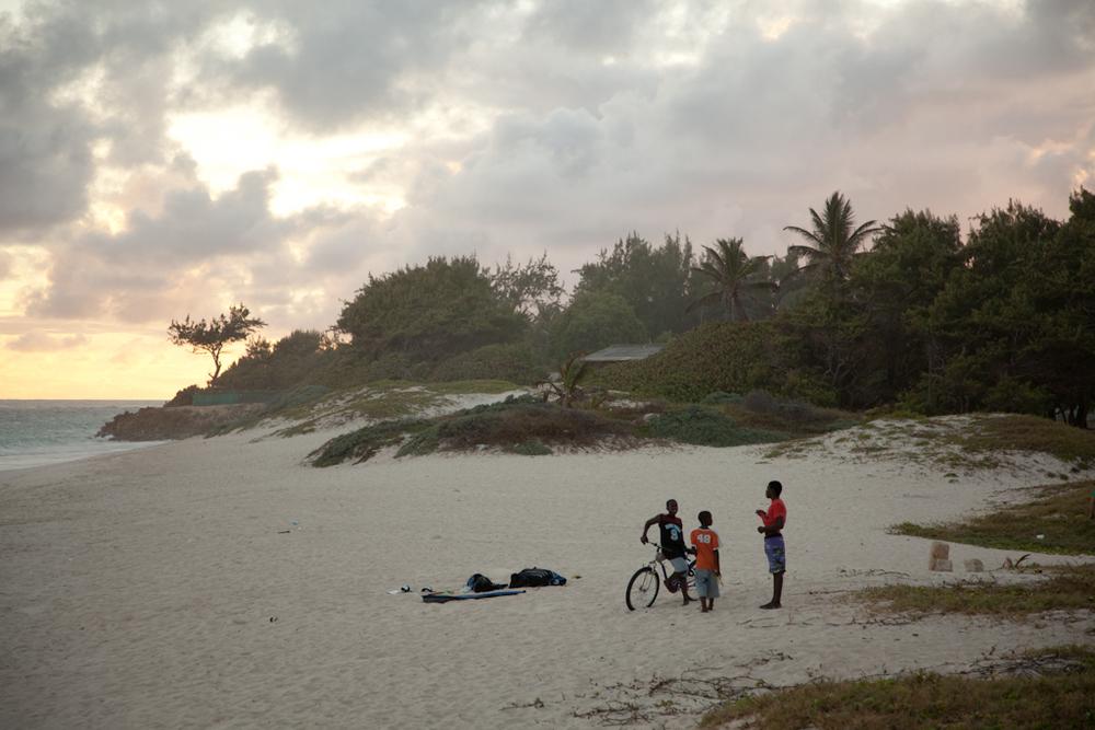 Beach Kids // Barbados