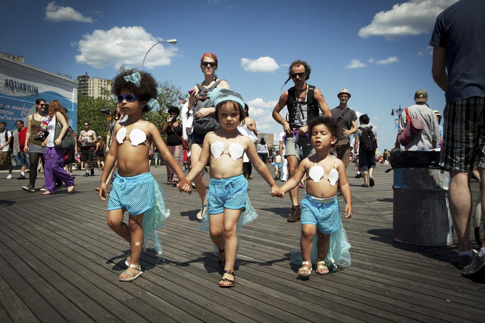 coney island mermaid parade, 2013
