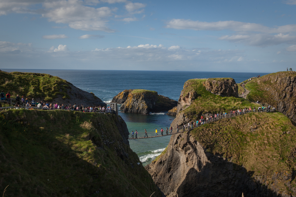 Carrick-a-Rede Rope Bridge // Northern Ireland