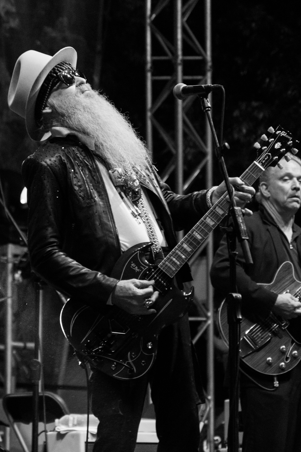 Billy Gibbons at KGSR Blues on the Green, May 25, 2016 © Grease Man Photography ©