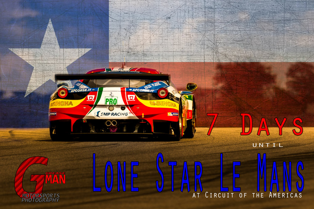 SMP Racing Ferrari 458 LMGTE PRO during 6hrs of Circuit of the Americas 2015 © Grease Man Photography ©