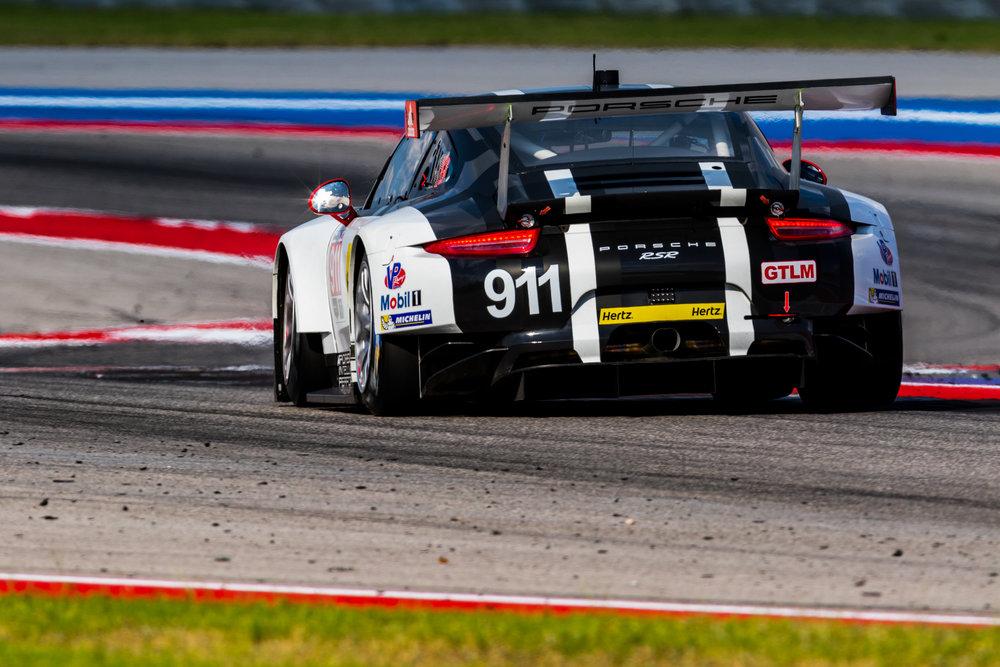 No. 911 Porsche North America Porsche 911 RSR driven by Patrick Pilet & Nick Tandy