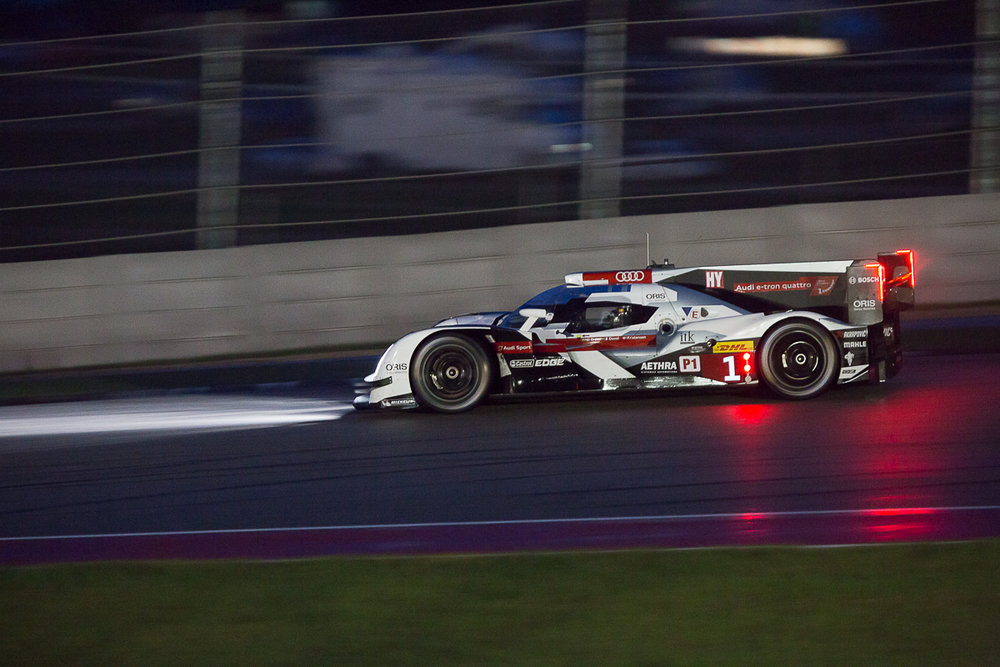 The Audi Sport R18 e-tron quattro during 2014 FIA WEC 6h of COTA at Circuit of the Americas