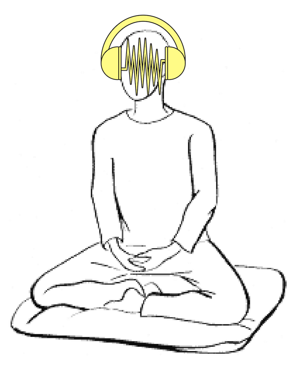 Meditating with headphones.png