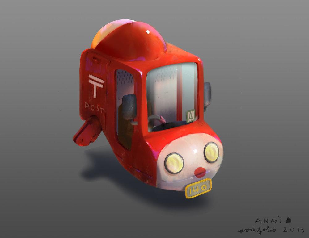 little mail truck