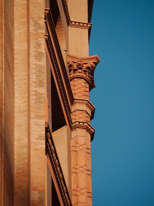Red Pilaster