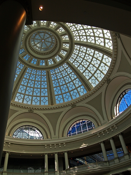 Dome, Framed