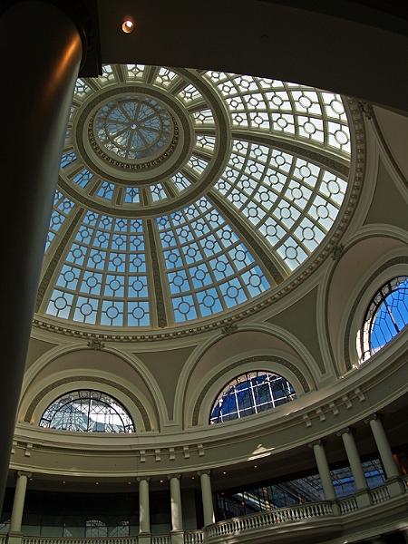 Dome, Framed
