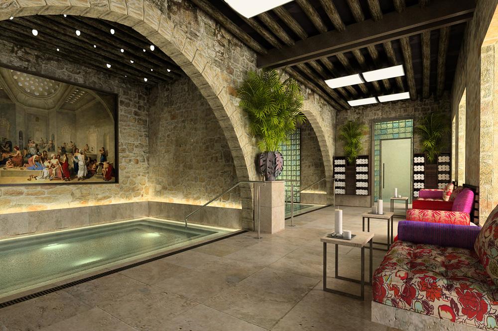 Spa, Hotel Al Bustan