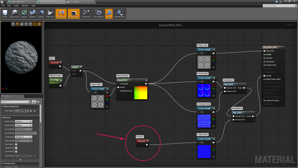 Bump Offset With Tiling Layers In Unreal Engine 4  U2014 Jack Caron